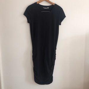 Black athleta dress
